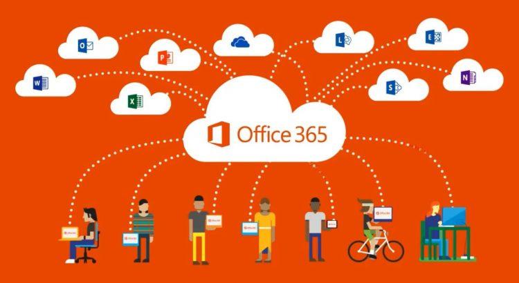 Office365 conectividade e produtividade em alta
