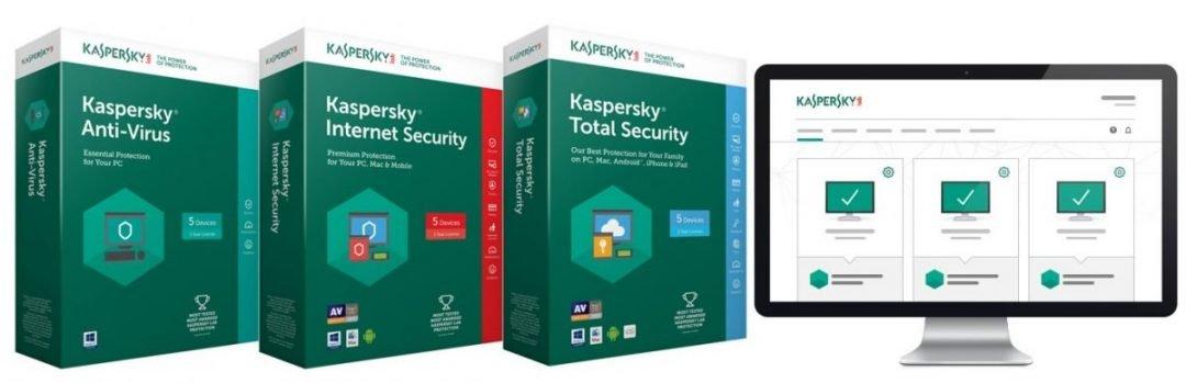 Soluções de segurança Kaspersky